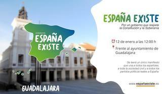 VOX Guadalajara convoca una manifestación para el 12 de enero frente al Ayuntamiento tras la