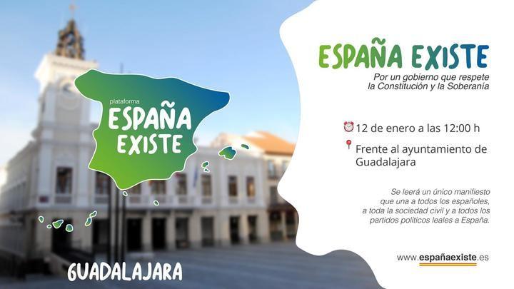 """VOX Guadalajara convoca una manifestación para el 12 de enero frente al Ayuntamiento tras la """"traición"""" del socialista Sánchez"""