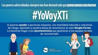 """Nuevas Generaciones presenta la campaña de adscripción de voluntarios ante el COVID-19: """"YoVoyXti"""""""