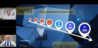 La Planificación empresarial en tiempos de crisis centra un nuevo Webinar de CEOE-CEPYME Guadalajara