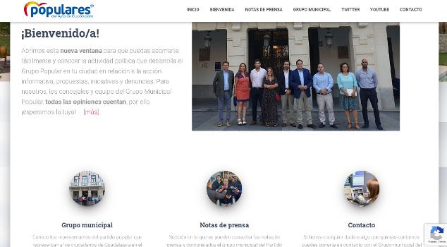 El PP pone en marcha un nuevo canal de información a través de la web ppayuntamientoguadalajara.es