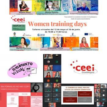 Los Virtual Training Days del CEEI Guadalajara se convierten en la referencia del Emprendiiento femenino