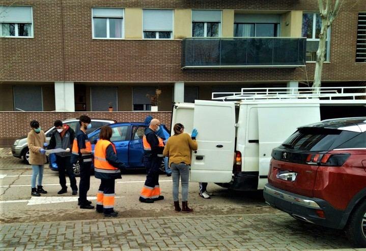 El Ayuntamiento de Yebes suministra alimentos a las familias del municipio en situación de vulnerabilidad
