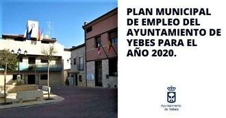 Hasta el 10 de julio se pueden presentar las solicitudes para las 9 plazas del Plan Local de Empleo de Yebes