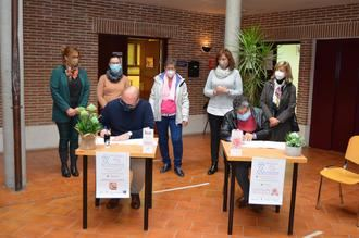 El Ayuntamiento de Yunquera de Henares y la AECC firman un convenio para la cesión del local del 'Proyecto Yunquera'