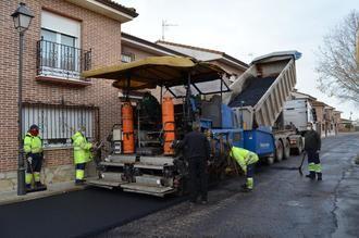 El Ayuntamiento de Yunquera de Henares inicia su Plan de Asfaltado 2020-2023
