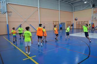 El Pabellón Municipal 'José Luis Viejo' acogió un año más el Campus del CDE Basket Yunquera