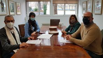 El Ayuntamiento de Yunquera de Henares renueva su convenio de colaboración con Cáritas Diocesana