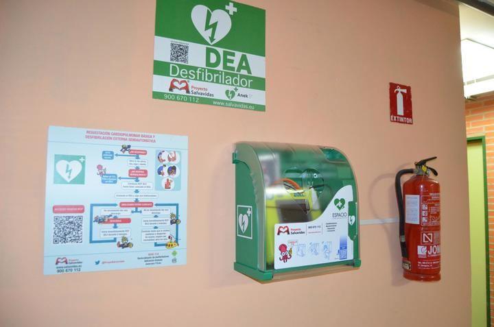El Ayuntamiento de Yunquera de Henares mejora y amplía el servicio de desfibriladores en la localidad