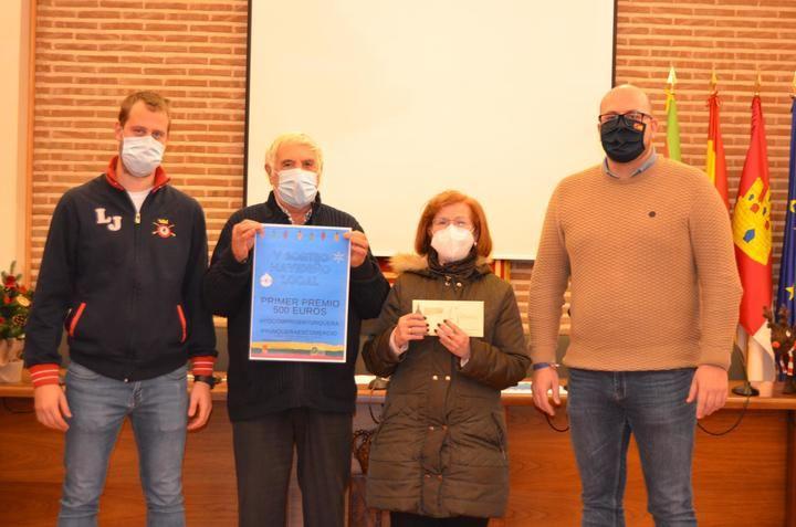 El Ayuntamiento de Yunquera de Henares entrega los premios de su V Sorteo Navideño Local