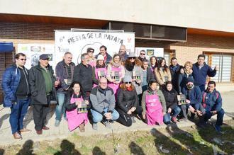 Más de 70 guisos participan en la VI Fiesta de la Patata de Yunquera de Henares