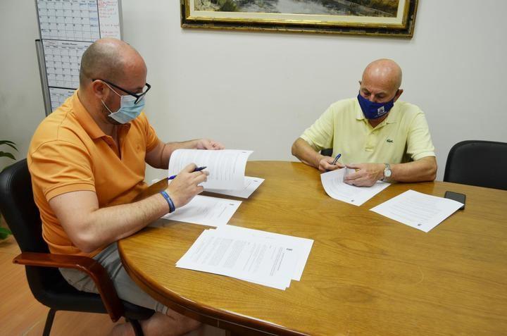 El Ayuntamiento de Yunquera de Henares renueva su compromiso con el Club Deportivo Yunquera