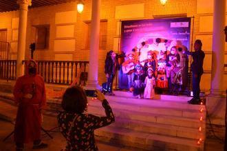 Decenas de yunqueranos participan en el primer Concurso de Disfraces de Halloween