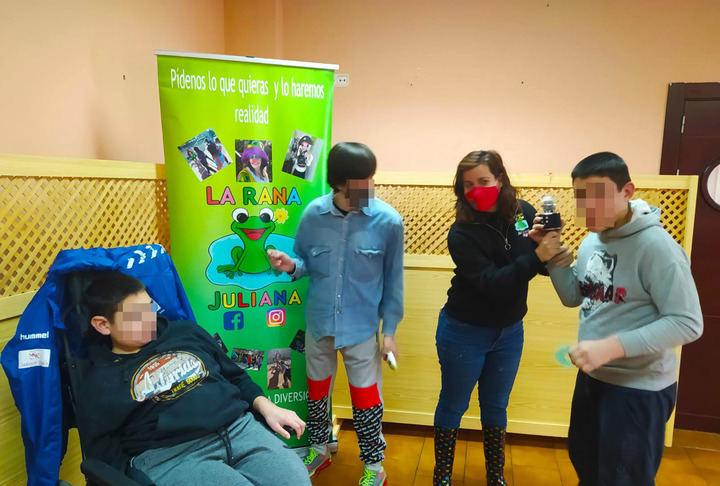 El 'Proyecto Intégrate' de alivio familiar vivió una nueva edición durante las vacaciones de Navidad en Yunquera de Henares