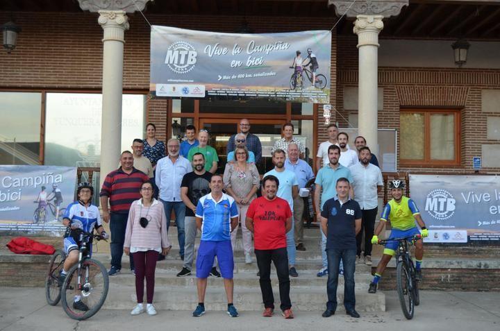 'Campiña MTB Zona' ofrece más de 400 kilómetros de rutas por 27 pueblos de la comarca