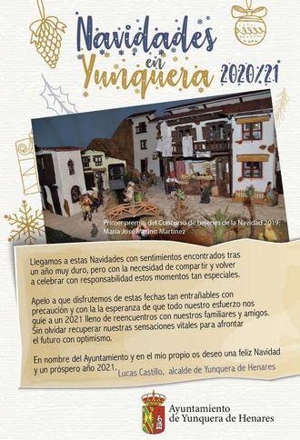 Yunquera de Henares disfrutará de una programación navideña marcada por las medidas de seguridad