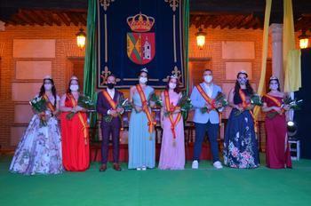 Yunquera de Henares corona a sus nuevos Quintos de Honor en el inicio de sus fiestas patronales