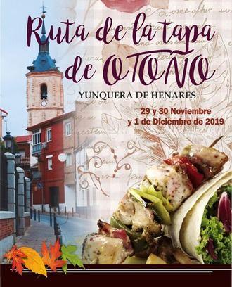 Yunquera de Henares celebrará su I Ruta de la Tapa de Otoño