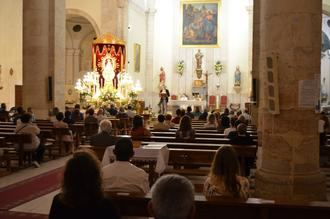 La Virgen de La Granja vuelve al pueblo de Yunquera de Henares para el inicio de su Novena