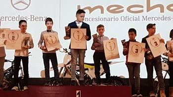 El cabanillero Pablo Leceta, campeón de Madrid de Minivelocidad 2016