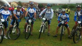 Yunqueranos en la Riaza B-Pro Bike de mountainbike