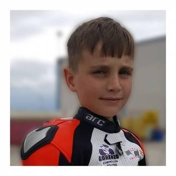Pablo Leceta, el niño de Cabanillas que brilla como piloto de motos a nivel nacional