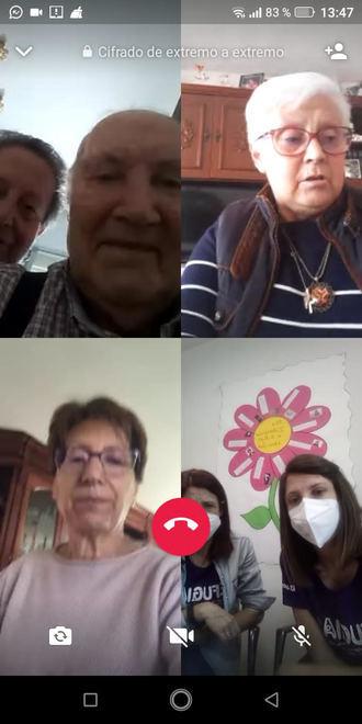 Encuentros virtuals de los Mayores de Guadalajara por el 8M