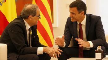 La Junta Electoral inhabilita a Torra como presidente de la Generalitat de Cataluña