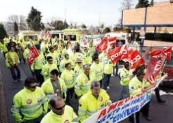 Trabajadores de las ambulancias Transaltozano en Guadalajara piden el pago de sus nóminas
