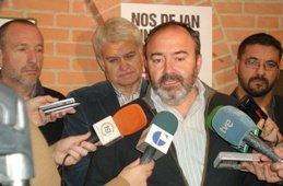 Asamblea en Guadalajara de Delegados de UGT y CC.OO con motivo de la Huelga General del 14-N
