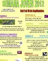 Fútbol, cine, música, baile y gymkana fotográfica 'vía' whatsapp en la Semana de la Juventud de 2012
