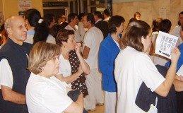 La Federación de Servicios Públicos de UGT valora positivamente la Concentración de este martes en el Hospital General de Guadalajara