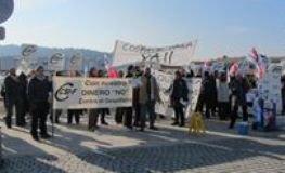 Las 84 trabajadoras de limpieza del Hospital de Guadalajara mantienen hoy su segundo día de huelga