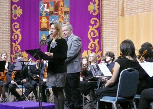 La presidenta de la Diputación asiste al concierto de la Sinfonietta Orchestra de Madrid que clausura el 'Otoño Cultural en el marco del Bicentenario'