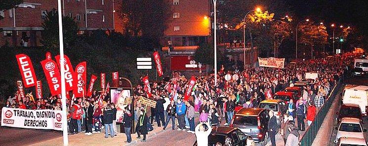 Miles de guadalajareños se suman a manifestación del 14N contra los RECORTES