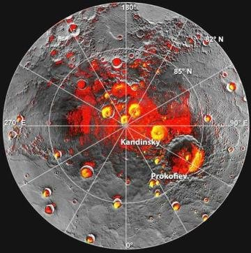 ¡Sorprendente descubrimiento! : La NASA encuentra agua en Mercurio