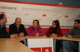 El PSOE de Guadalajara expresa su apoyo a las movilizaciones contra la reforma laboral