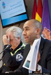 El concejal de Seguridad Ciudadana valora positivamente los datos de la Memoria de la Policía Local correspondiente al año 2011