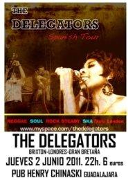 ¡¡¡¡THE DELEGATORS en directo hoy en Guadalajara!!!!