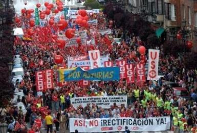Los sindicatos convocan una huelga en la administración pública regional el próximo 29 de febrero en contra de los recortes de Cospedal