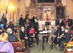 El I Certamen de Música Cofrade llena la Iglesia de Santa María