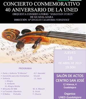 Música clásica para celebrar los 40 años de la UNED