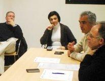 El CIES Quer acogió una de las reuniones de trabajo periódicas de ADAC