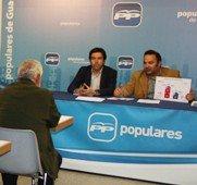 Jaime Carnicero traslada a concejales y vocales del PP el éxito alcanzado con los convenios para la puesta en marcha de la conexión Alcorlo-ETAP y la construcción de la Tercera Conducción