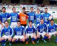 El buen juego y los goles dieron la victoria al Yunquera frente al Hogar Alcarreño (3-0)