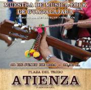 """El sábado 22 en Atienza, """"Muestra de Música Tradicional de Guadalajara"""" con motivo del Bicentenario de la Diputación"""