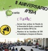 IUNCARIA organiza una Charla-Debate sobre el 15-M en su segundo aniversario