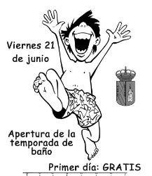 El viernes 21 de junio se abre al público la piscina municipal de Yunquera sin subida de precios