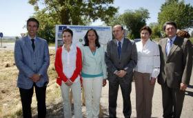 """Marta García: """"Es importante invertir en carreteras que faciliten la circulación y el acceso a las zonas industriales"""""""