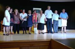 Música, teatro y risas en el fin de curso del Centro de Día de Alovera